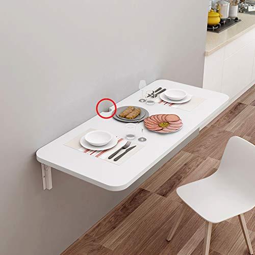 KDDEON Wandklapptisch mit Gewindelochdesign,Wandtisch Klappbar Schwimmender Schreibtisch für Kinder,Computertisch,Wäschewerkbank,Küchentisch Esstisch,Stehtische,32 Größen (100x60cm/39x24in)