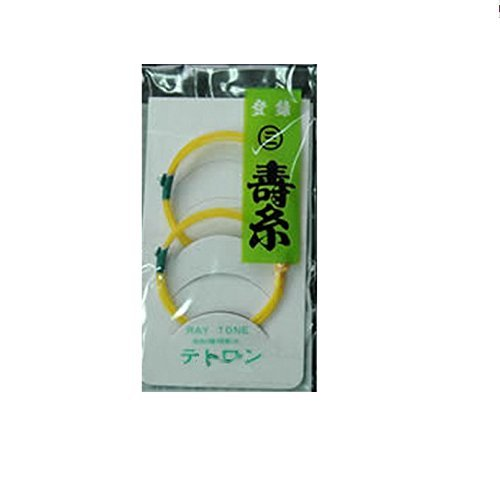 Nagauta Shamisen 2nd string, 4-strings included, Tetron 13-2 w/import shipping 三味線 長唄 二の糸 4本セット 13-2 テトロン