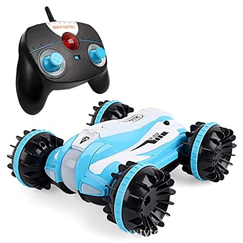 HYLL Amphibious RC Stunt Car, 2.4 GHz Control Remoto 4WD Crawler Coche 360 Grados Spinning and Flips Racing, Off Road Vehice 4+ para niños Adultos