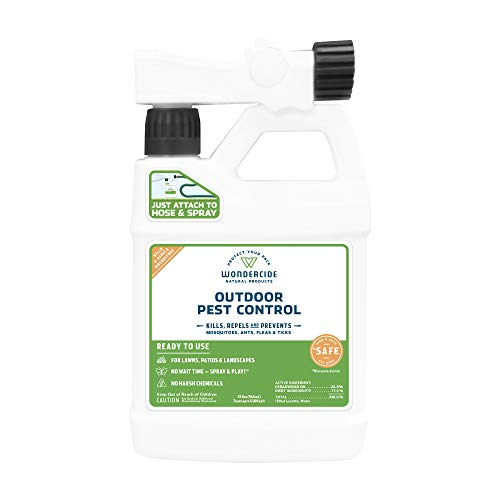 Wondercide EcoTreat Natural Ready-to-Use Outdoor Pest Control Spray - Mosquito and Insect Killer, Treatment, and Repellent - Safe for Pets, Plants, Kids - 32 oz