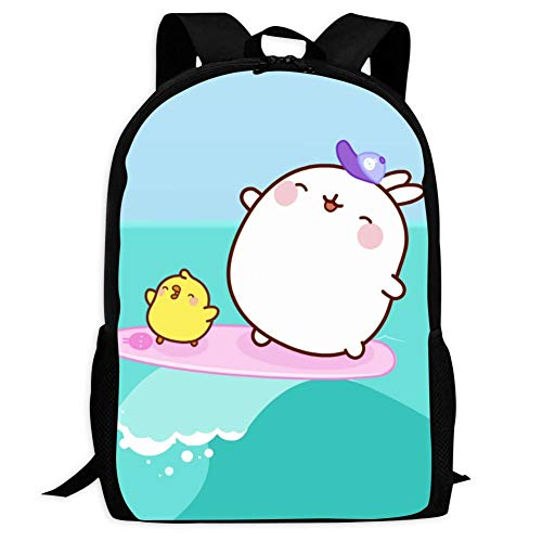 School Backpacks Cute Mo-Lang Unisex Children Shoulder Bags