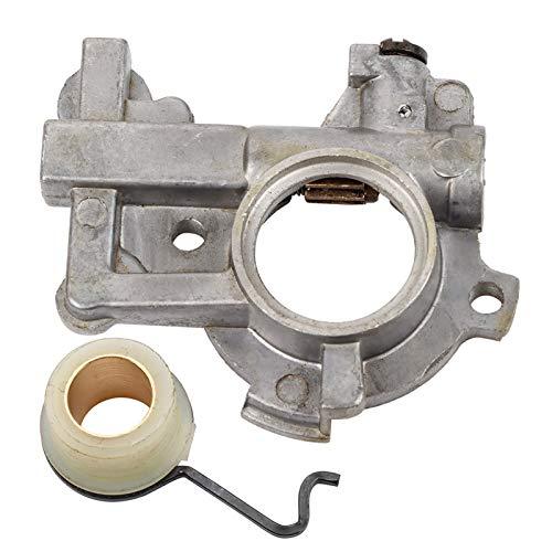 Juego de Bomba de Aceite Kit de Resorte de Engranaje helicoidal engrasador Bomba de Repuesto Engranaje helicoidal Metal de Calidad con Metal para Stihl 066 Ms650 Ms660 Ms650 660