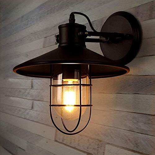 Vinteen Luces industriales de la pared retro lámpara industrial soporte de pared ajustable lámpara de pared lámparas de pared LED nuevo dormitorio creativo paredes de la pared linterna sala de estar s
