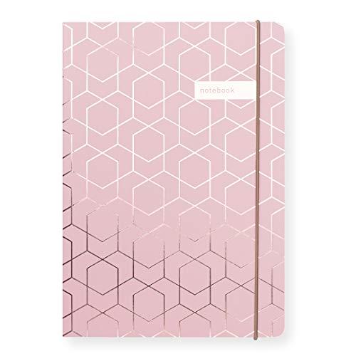 Matilda Linton Myres Notebook – Rose Gold Folie Pink