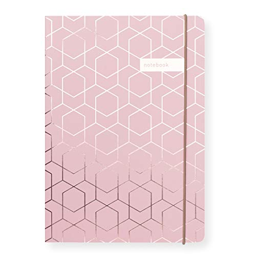 Matilda Linton Myres Notebook – Rose Gold Folie Pink