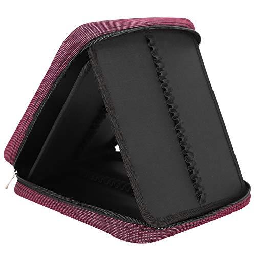 Aufbewahrungstasche mit Reißverschlussstift, tragbare Schreibwaren-Tasche für Arbeitszimmer für die Büroschule