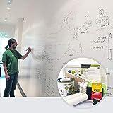Pittura Lavagna Smart - Vernice Lavagna Bianca - Lavabile - Scrivibile a Pennarelli - Muro Lavagna Fai da te - 2m² - Bianco *CONSEGNA ESPRESSA GRATUITA*
