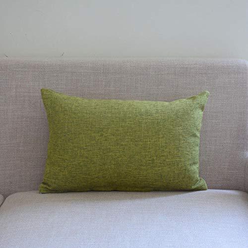 Almohada Ergonómica para Dormir en Diferentes Posturas (Lado, Espalda o Estómago) -Pasto Verde_50x70cm