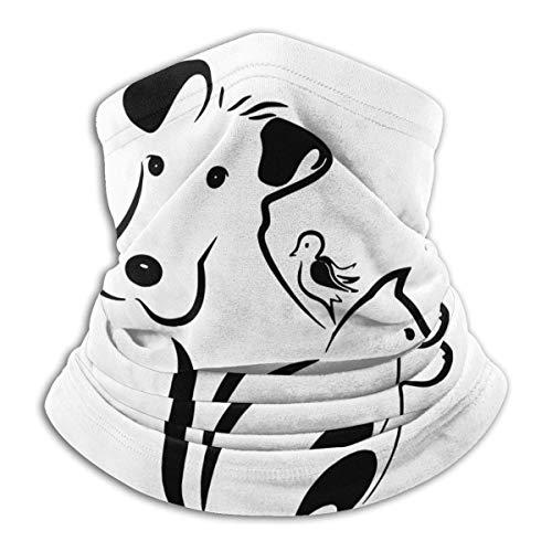 Alive Inc Multifunktionaler Schutz Gesichtsmaske Hund Katze und Vogel Bandana Mikrofaser Halswärmer Magic Scarf