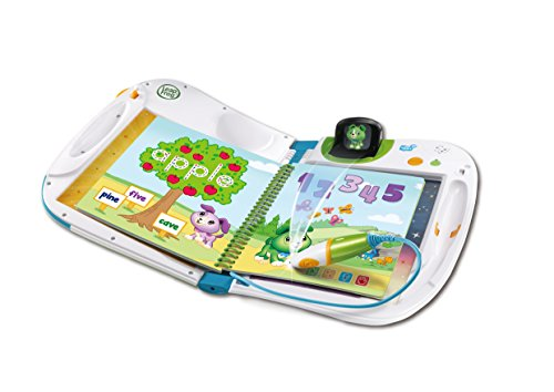 LeapFrog 603903 Holo Educational Book with Games and Learning Activities Toddler and Pre School Leap Start Toy, Blue, One Size
