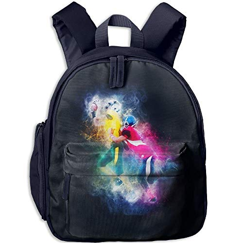 Fierce Rugby Game Toddler Kids Pre School Bag Cute 3D Print Children School Backpack