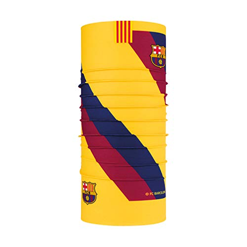 Original Buff FC Barcelona Original 2nd Equipment 20/21 Tubular, Unisex niños, Light Grey, Talla única