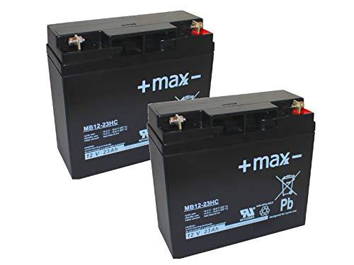 Kompatibler Akku Accu Zusatzantrieb e-fix E26 24V 2x 12V Ersatz Batterie zyklenfest