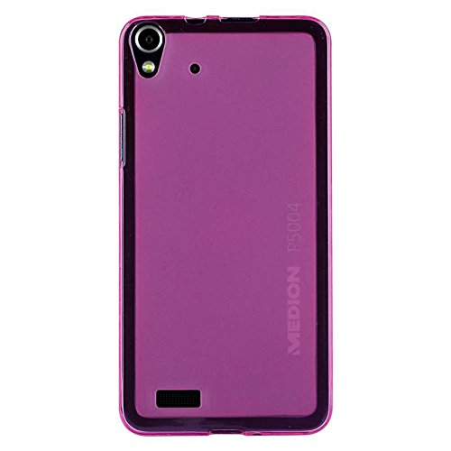 caseroxx TPU-Hülle für Medion Life P5004, Tasche (TPU-Hülle in pink)