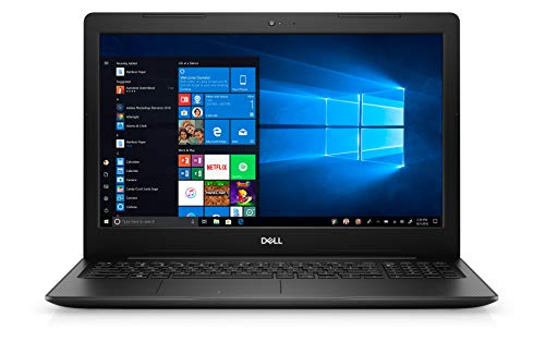 Product Image 6: Dell Inspiron 3000 Series 15.6″ HD Notebook – Intel Celeron 4205U 1.8GHz – 4GB RAM 128GB PCIe SSD – Webcam – Windows 10 Home in S Mode, Black