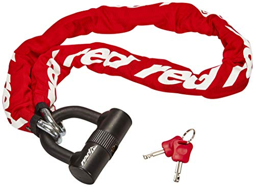 red CYCLING PRODUCTS High Secure Chain Plus Kettenschloss rot 2020 Fahrradschloss