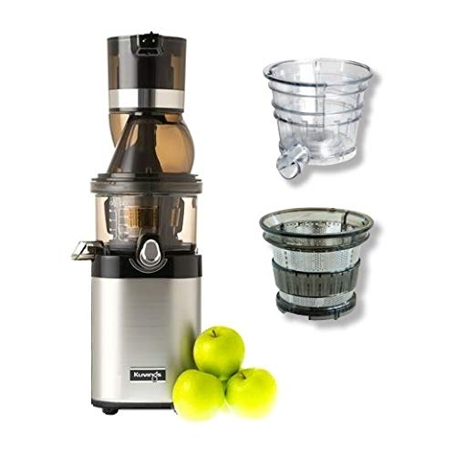 Kuvings - Whole Slow Juicer Chef CS600 + Smoothie Strainer & Blank Strainer Inbegriffen!