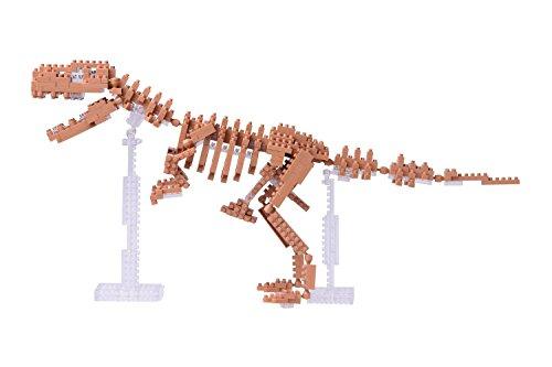 Brigamo Bausteine T-Rex Dinosaurier Skelett, 580 Teile, Konstruktionsspielzeug