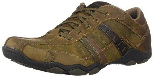 Skechers Diameter-Vassell, Zapatillas Hombre, Marrón (DSCH Desert Leather), 45 EU