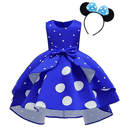 Vestido de Lunares de Princesa para Bebé Niña Minnie Disfraces para Fiesta...