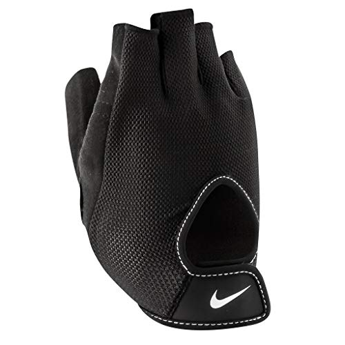 NIKE 9092/13 Wmns Fundamental Fitness Gloves - Guantes de Entrenamiento para Mujer, Talla L, Color Gris y Blanco