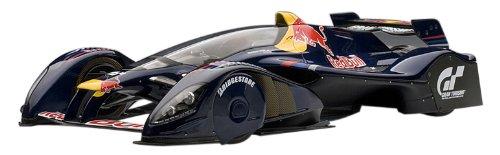 AUTOart - 18108 - Véhicule Miniature - Modèle À L'échelle - Red Bull X2010 - Bleu Sébastian Vettel - Echelle 1/18