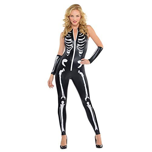 Christy 's Kostüm Erwachsene Skelett Catsuit (Größe 10–12)