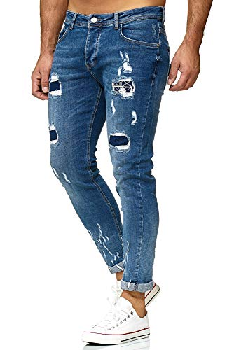 Red Bridge heren jeans broek Regular-Fit ripped Frayed Destroyed Weapon Choice