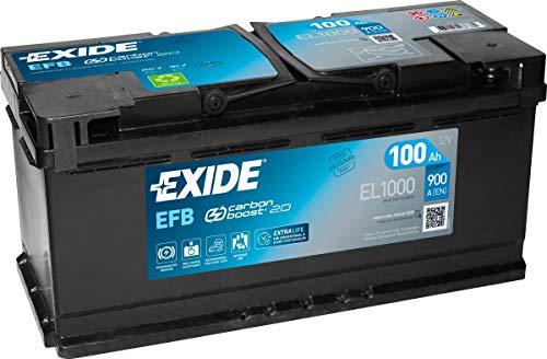 Exide 019 EFB autoaccu 100Ah EL1000