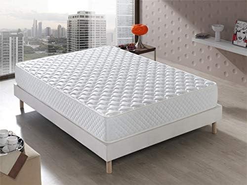 Colchón Senator Viscoelástico 150x190x20 cm. Confort de Hotel, Reversible (Invierno/Verano). Acogida con firmeza Media, 20 cm de ALTURA.