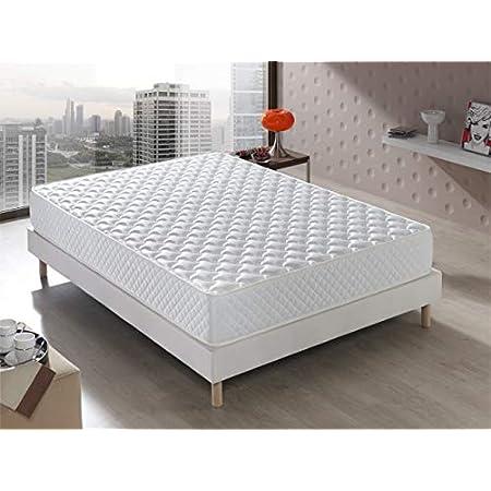 Senator Matelas viscoélastique confort d'hôtel réversible (hiver/été) Fermeté moyenne Hauteur de 20 cm