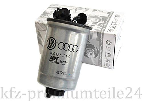 Originele VW brandstoffilter T4 Golf III Sharan Seat Toledo Ibiza Alhambra diesel filter motor 1H0127401C