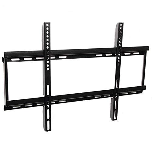 Soporte tv suelo Montaje de montaje de TV fijado para LCD de 40-70 pulgadas, soporte de montaje en pared de TV hasta VESA 600x400mm y capacidad de carga de 110 lbs, bajo perfil y ahorro de espacio Sop