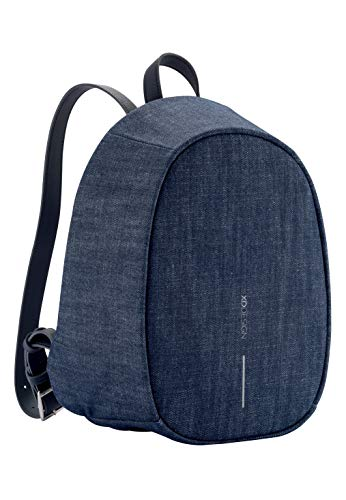 XD Design Elle Fashion Anti-Diebstahl Rucksack Denim Blau (Damentasche)