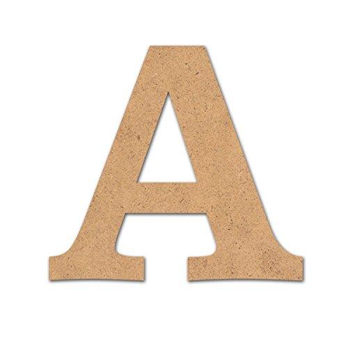 Detalles Infantiles - Letra madera manualidades 10cm A