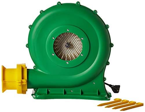 B-Air Koala KP-680 1/2 HP Air Blower | Bounce House Blower Fan for Medium Inflatable Bounce House, Bouncy Castle and Waterslides