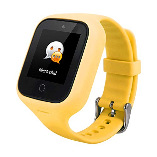 Children's Smartwatch, Smart Watch 1.3 inch Touch Wasserdicht IP67 Anti-Lost SOS Bracelet GPS Sports Watch for Women Men Children