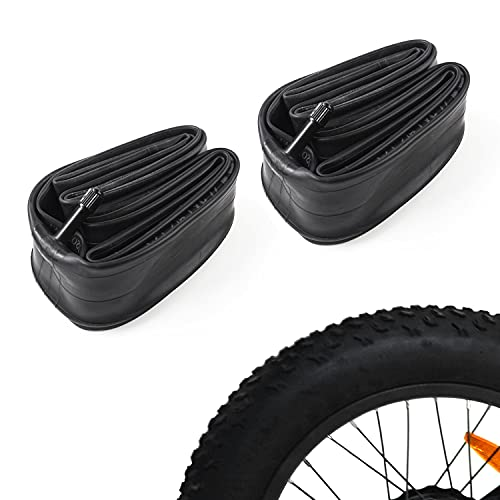 Addmotor Inner Tubes 20 x 4.0 Inch Inflatable Bicycle Fat Tire Tubes Replacement Air Tightness Latex Rubber Odor-Free (20 x 4.0)