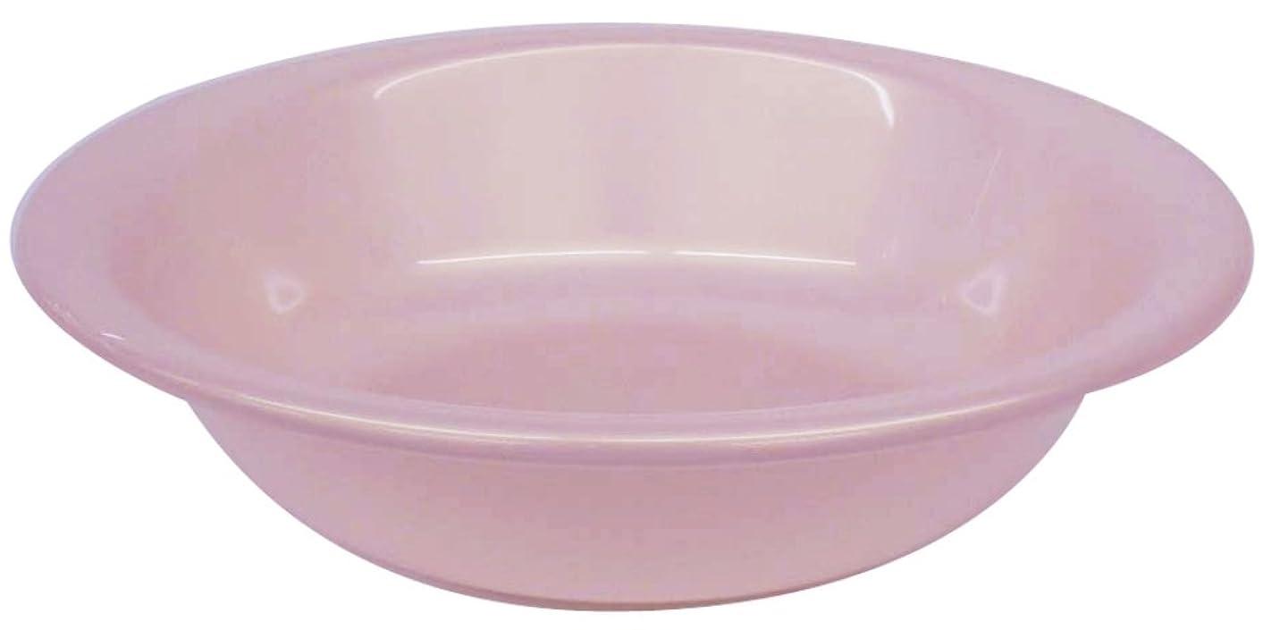 兵隊に渡って感嘆リッチェル 洗面器楕円 「シンプルイズム」 ピンク 33238