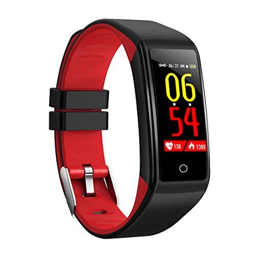Oolifeng Fitness Tracker, bloeddrukmonitor, waterdicht IP67, bluetooth, calorieënteller, stappenteller voor kinderen, dames en heren