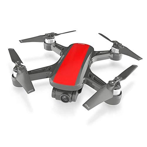 J-Clock Drone Quadcopter UAV con cámara 48MP 4K Video 2Axis Gimbal 15 min Tiempo Vuelo, función Sensor Gravedad, despegue/Aterrizaje con una tecla
