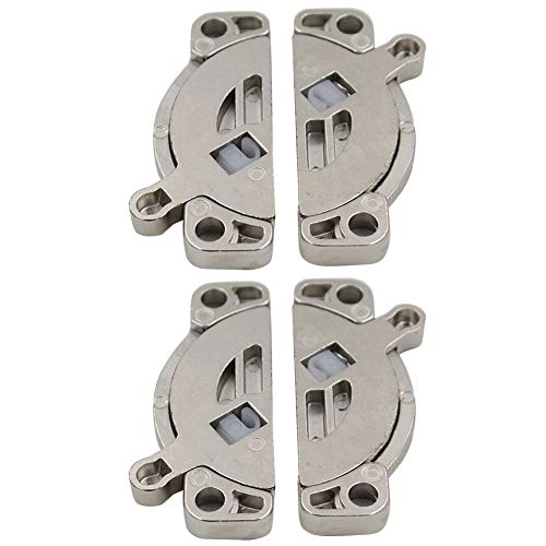 Trycooling 2 Pack Heavy Duty Zinc Alloy Table Locks Dining Training Table Buckles Connectors Hardware Accessories