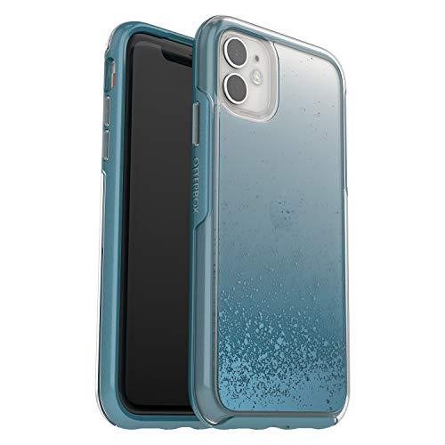 Otterbox Symmetry, funda anticaídas, fina y elegante para Apple iPhone 11, Transparente/Azul