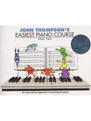 Easiest Piano Course 2: CD Edition: Pt. 2 (Book & CD)