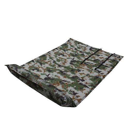 XINXI-MAO Camping-Tools. Mit anhängendem Kissen wasserdichte, leichte, aufblasbare 2-Personen-Luftmatratze aus dickem Schaumstoff Kompakte, doppelte, selbstaufblasende Camping-Isomatten im Freien