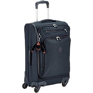 Kipling Youri Spin 55, Hand Luggage, 55 cm, 33 liters, Blue (True Navy)
