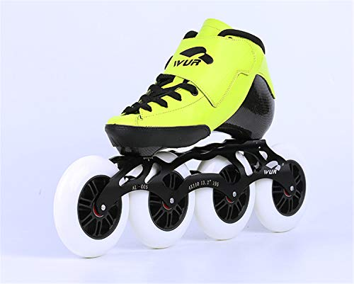 Buy TTYY Professional Speed Inline Skates Carbon Fiber Competition Street Racing Beginner Men Woman ...