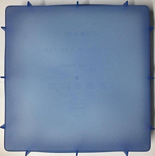 Pavoni Moule en silicone forme carrée, multicolore, 24 x 24 x 4 cm
