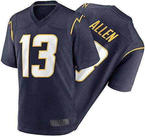 CLQ-Trikot Kěěnǎn Allěn Herren Fußballtrikot - Erwachsene Rugby Trikot Vapor Limited Jersey Fans Sweatshirt / 13#-Navy Game_Groß