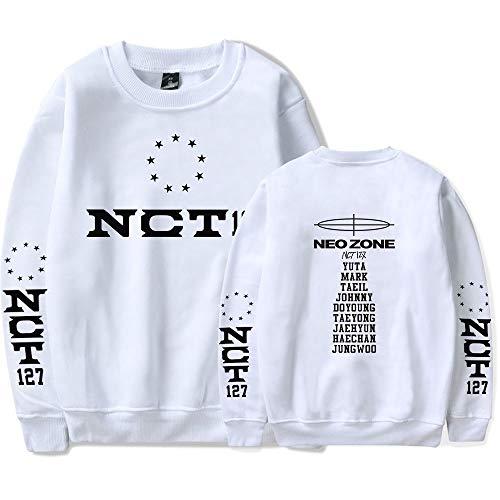 Landove NCT 127 Neo Zone Pullover Unisex T Shirt Lange Mouwen